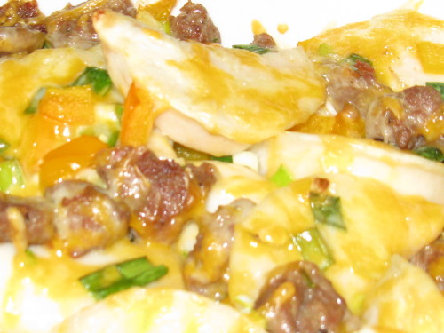 Sausage and Perogie Casserole